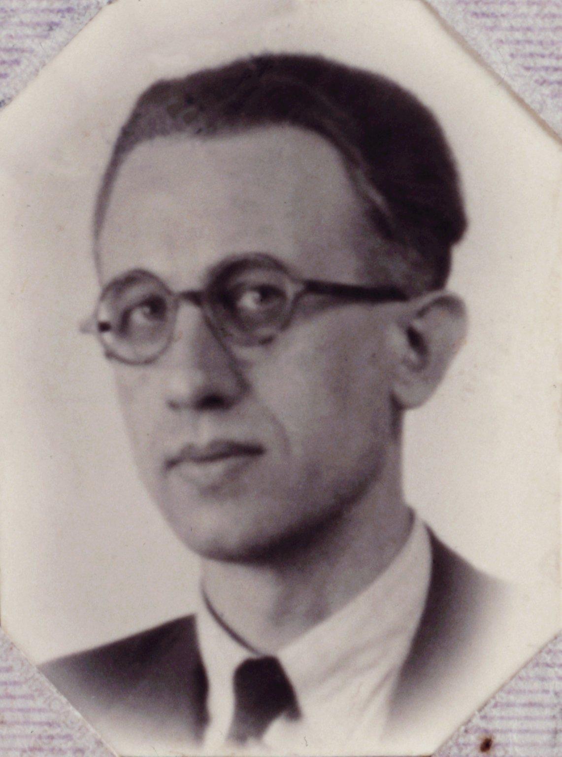 Jan Gies, around 1940.