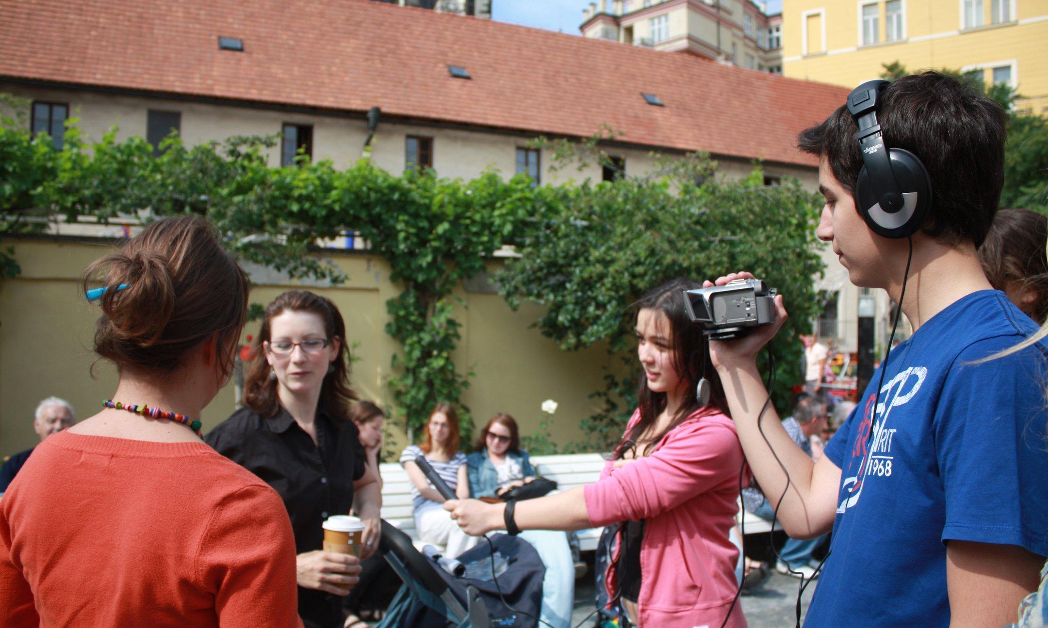 Film workshop Free2choose-Create, Prague