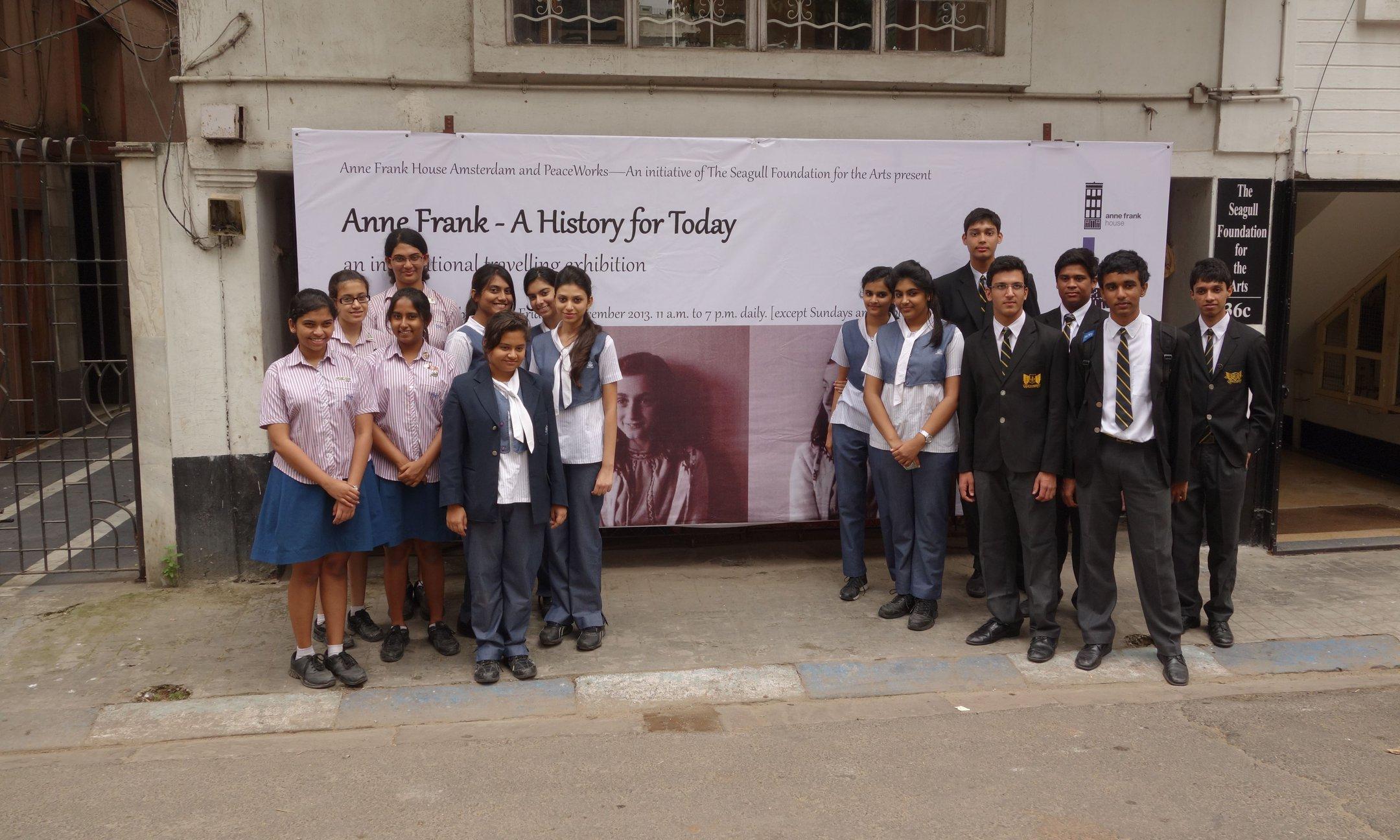 Peer guide training in Calcutta (2013)