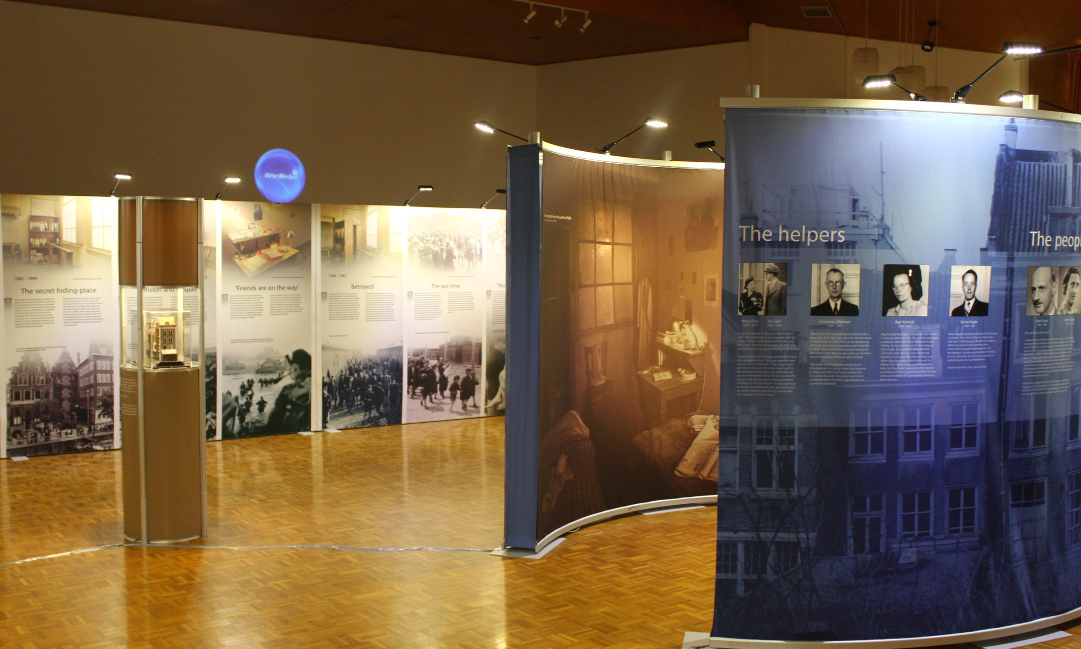 Exhibition 'Let me be myself, the life story of Anne Frank' in Melbourne, Australia