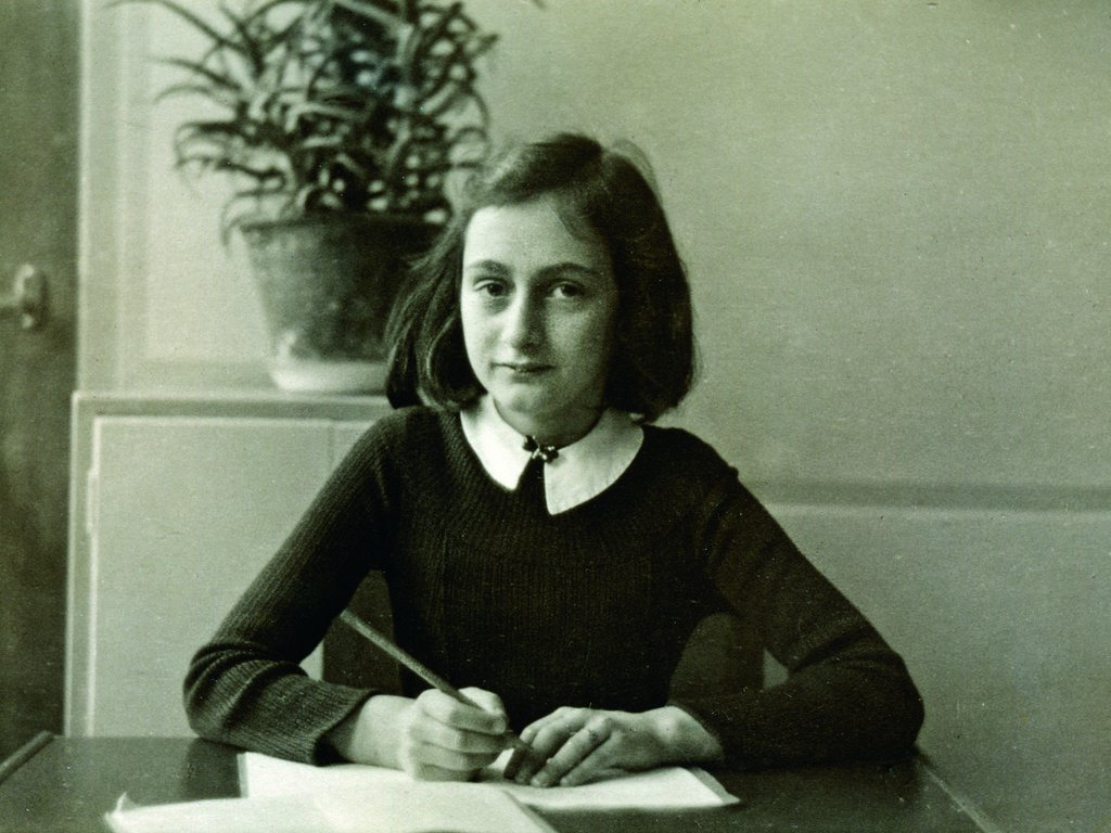 Holocaust diaries by Anne Frank and other young writers