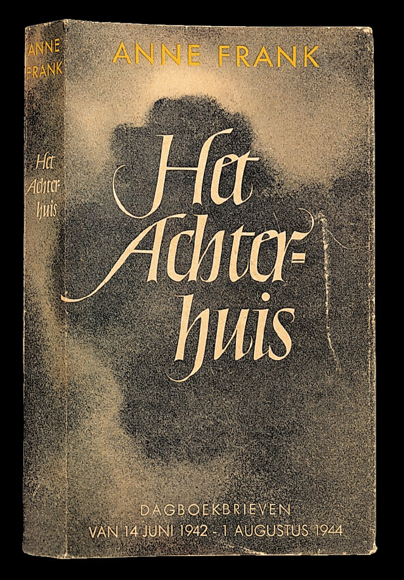 The first edition of Het Achterhuis (The Secret Annex) is published in June 1947 in an edition of 3,036 copies.