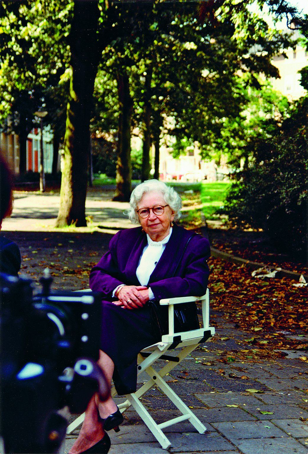 Miep Gies, 1992: no longer afraid of the camera