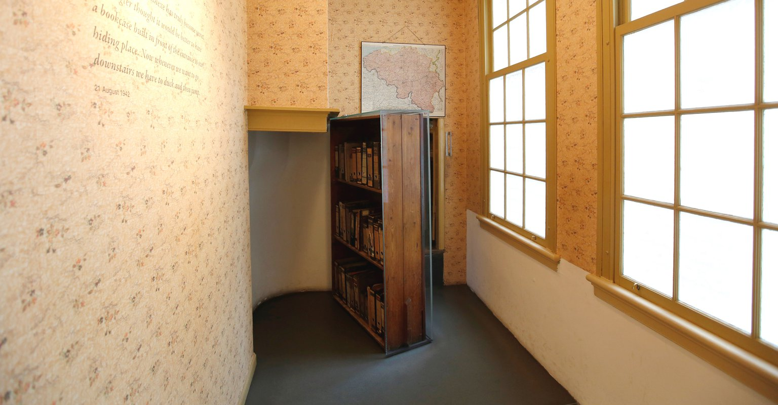 Inside The Museum Anne Frank House