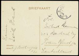 Postal de Edith Frank a Gertrud Naumann