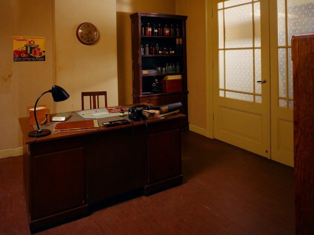 The company office