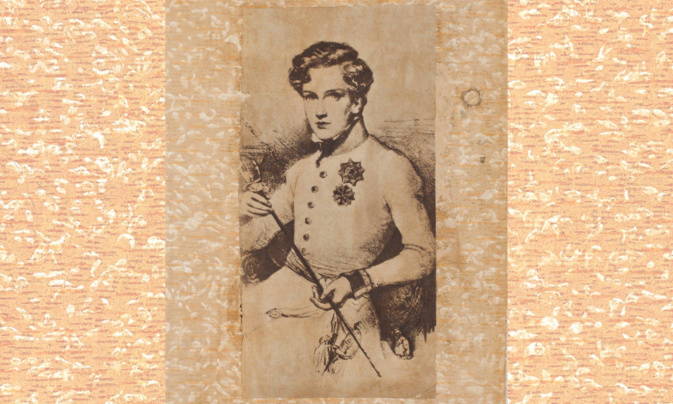 Napoleon Frans Karel Jozef Bonaparte (1811–1832), zoon van Napoleon Bonaparte en Marie Louise van Oostenrijk. Bron: onbekend.