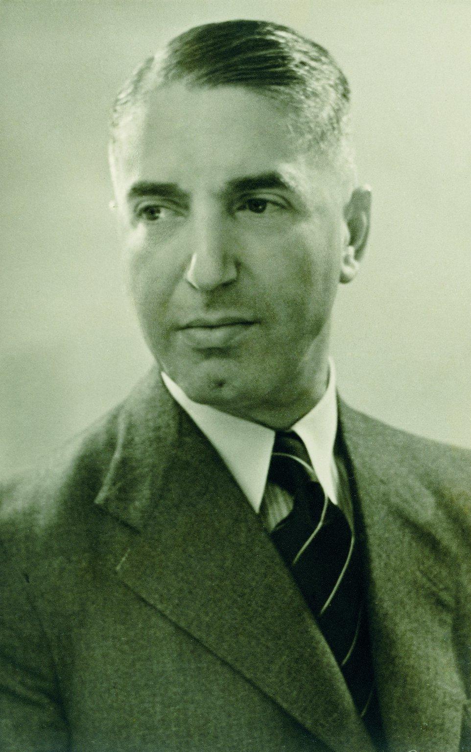 Fritz Pfeffer, um 1937.