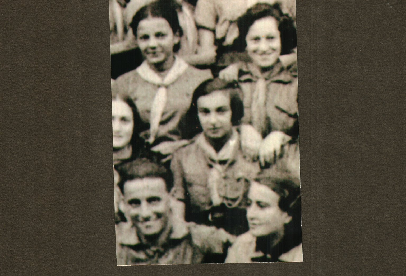 Elsa Binder (centre) from Poland kept a diary in the Jewish Stanislovas ghetto.