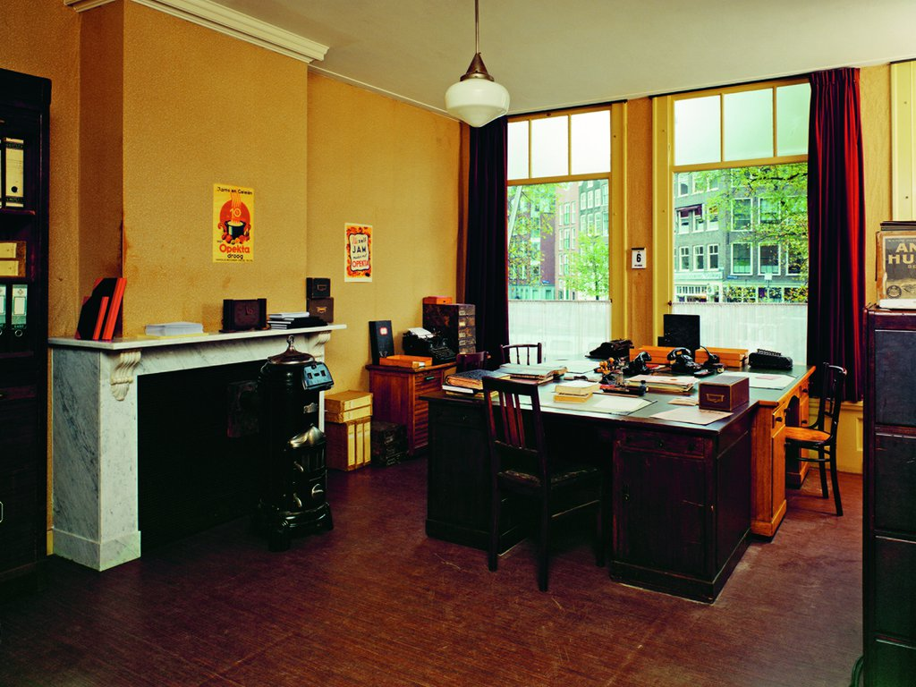 The company office