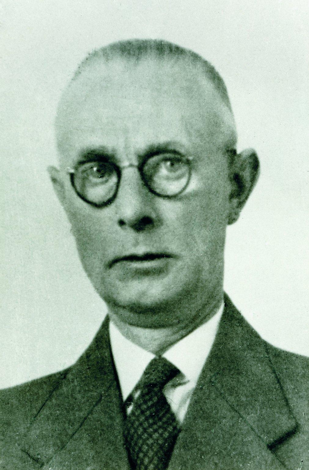 Johannes Kleiman, around 1950.