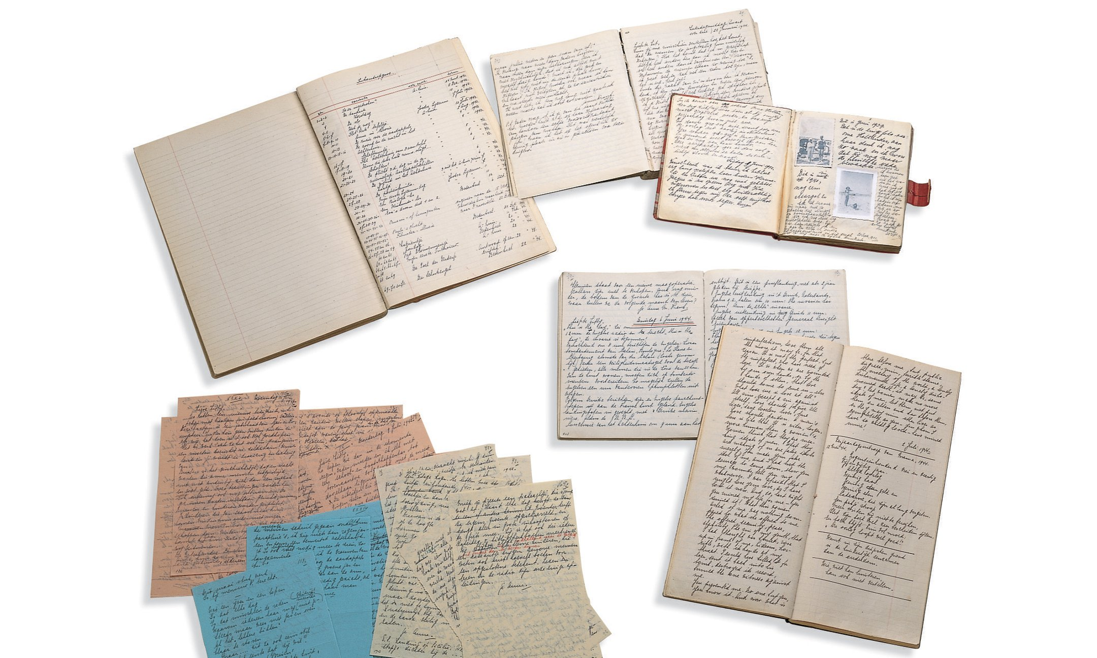 The manuscripts ofAnne Frank