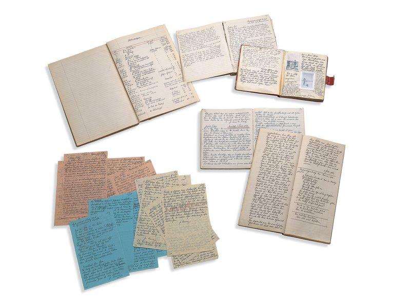 Manuscripten Anne Frank voor het eerst integraal digitaal ontsloten