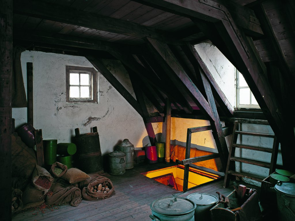 The attic of the Secret Annex