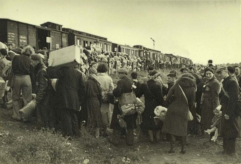 The final transport from Westerbork to Auschwitz