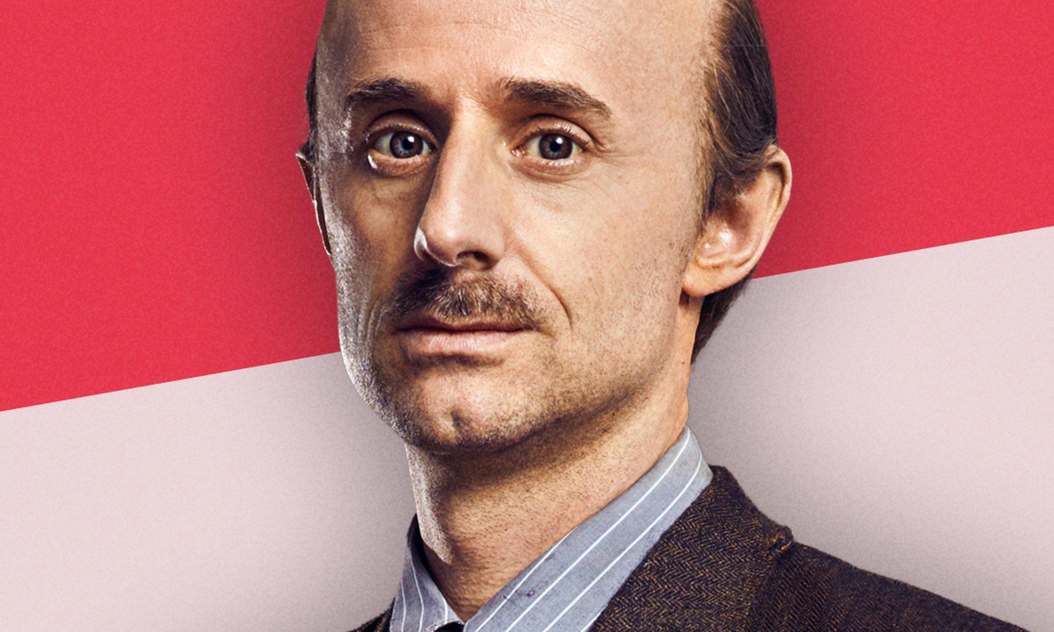 Noël van Santen (Otto Frank, Anne's father)
