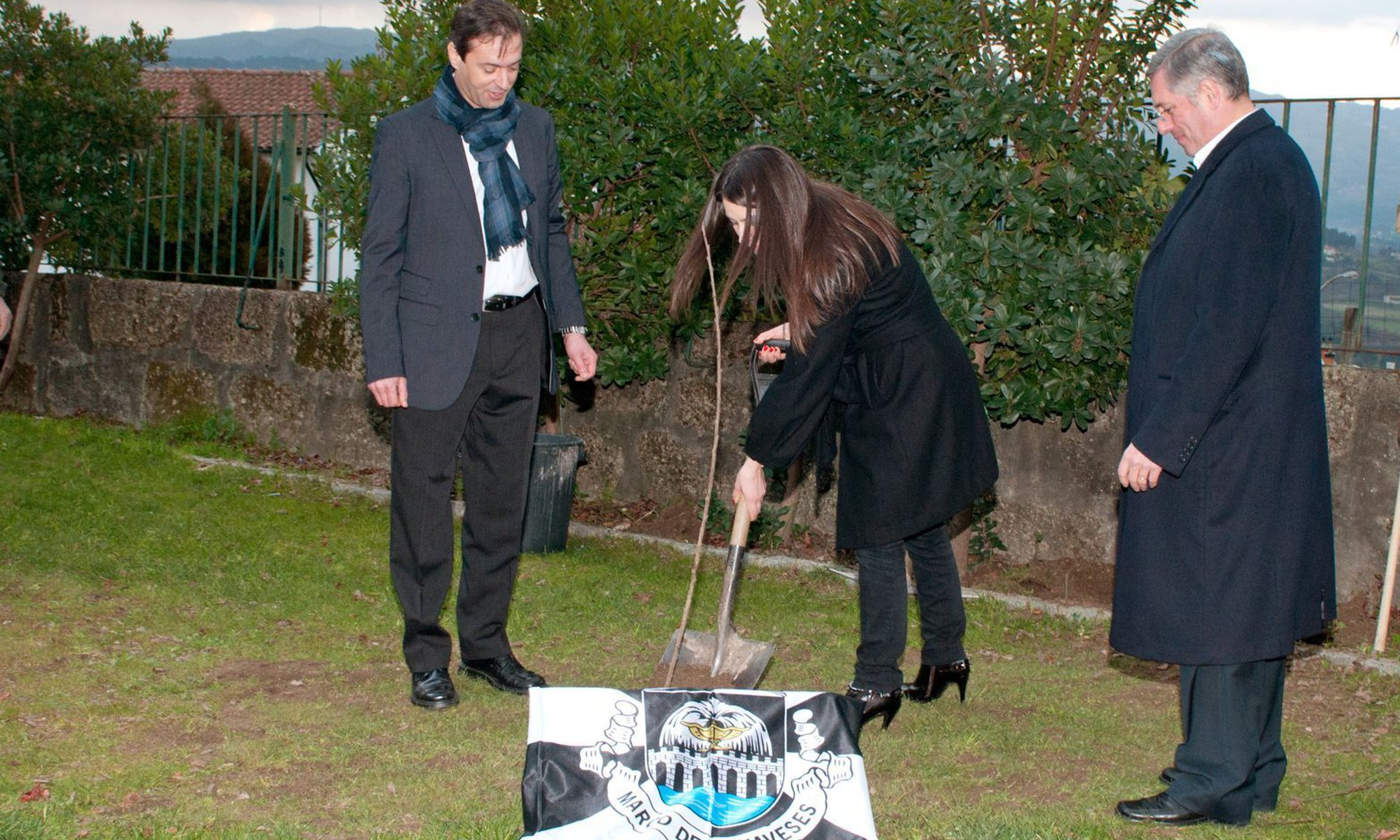 Planting of Ann Frank Tree, Marco de Canaveses
