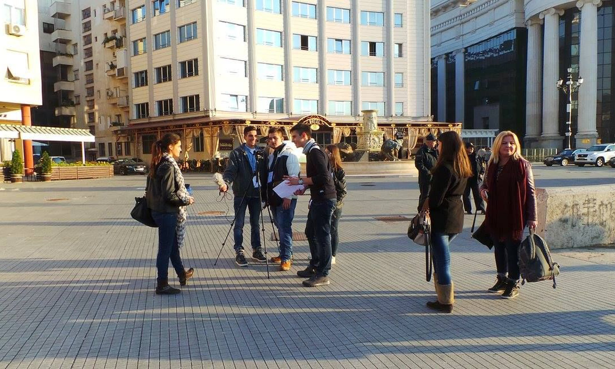 Memory Walk in Skopje (October 2015)
