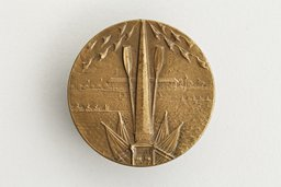 Rowing medal won by Margot Frank and her teammates
