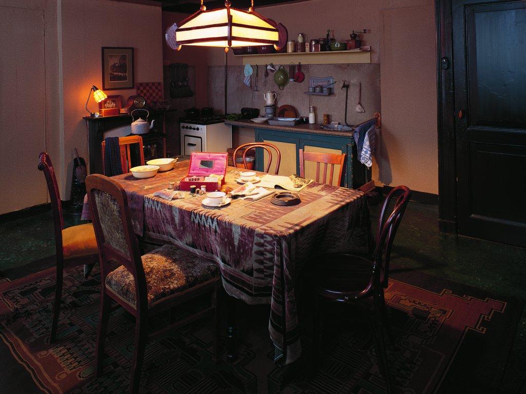 Kamer van Hermann en Auguste van Pels