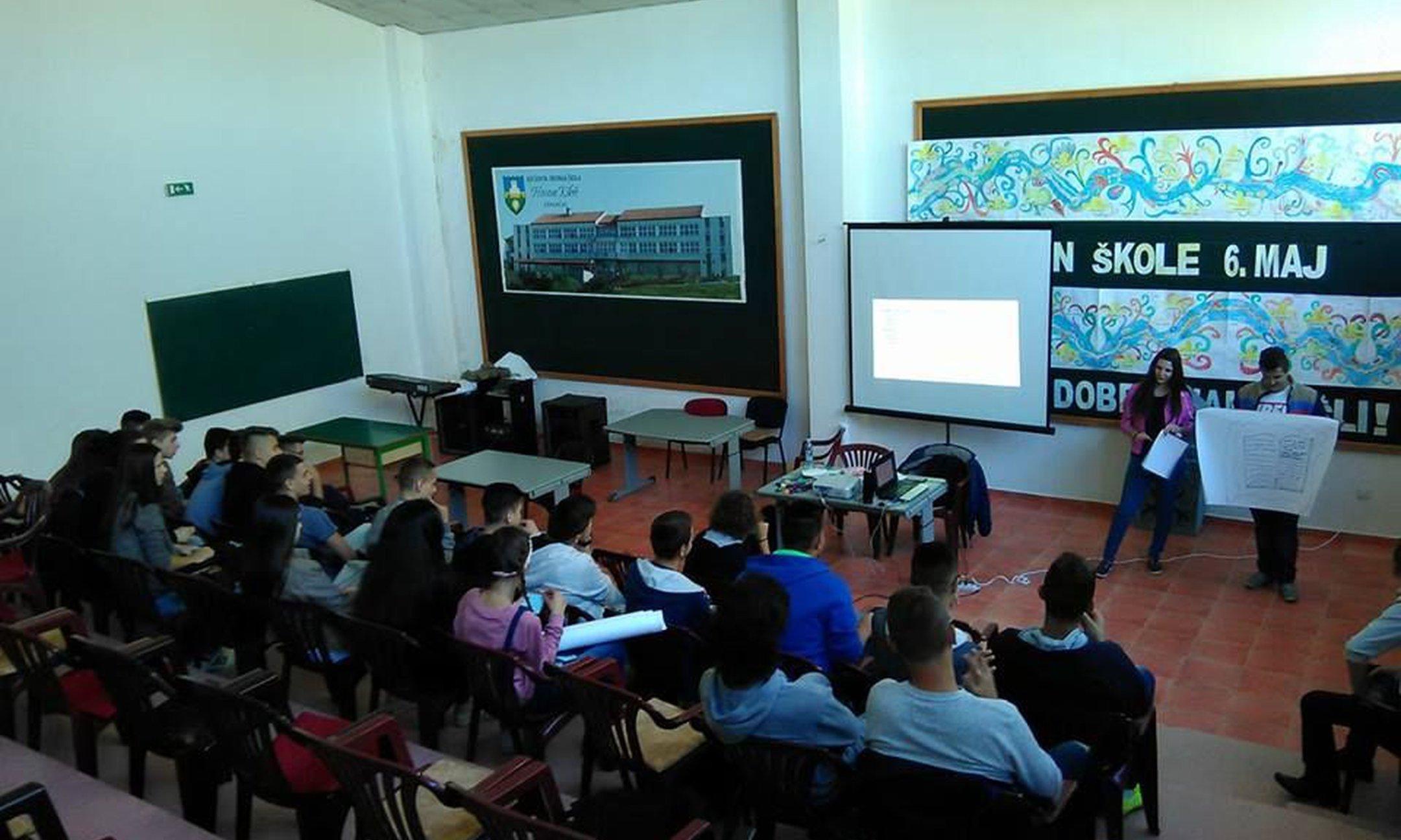 Memory Walk workshop in Gradačac (October 2016)