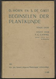 Study book of Anne Frank, Principles of Botany