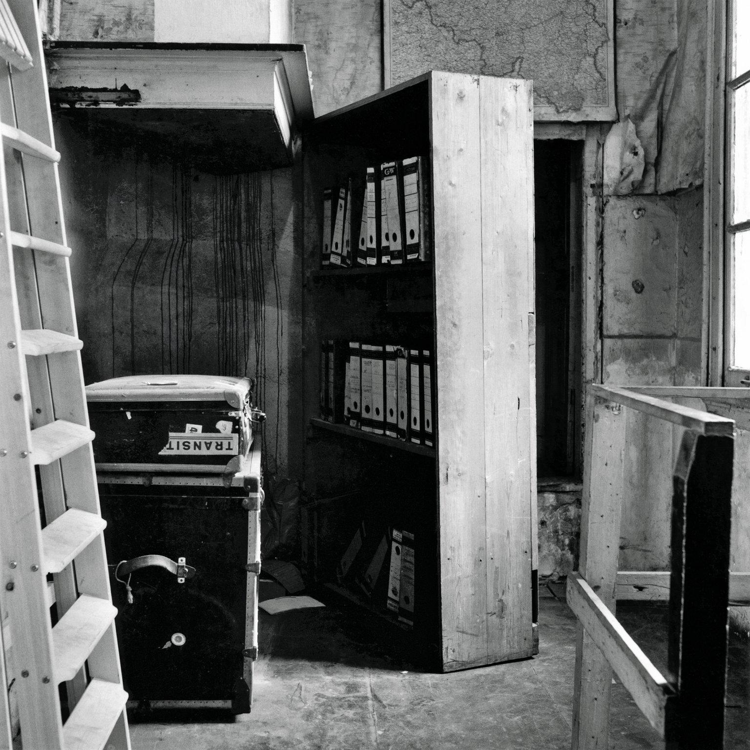 Johan Voskuijl built the bookcase that hid the entrance to the Secret Annex.