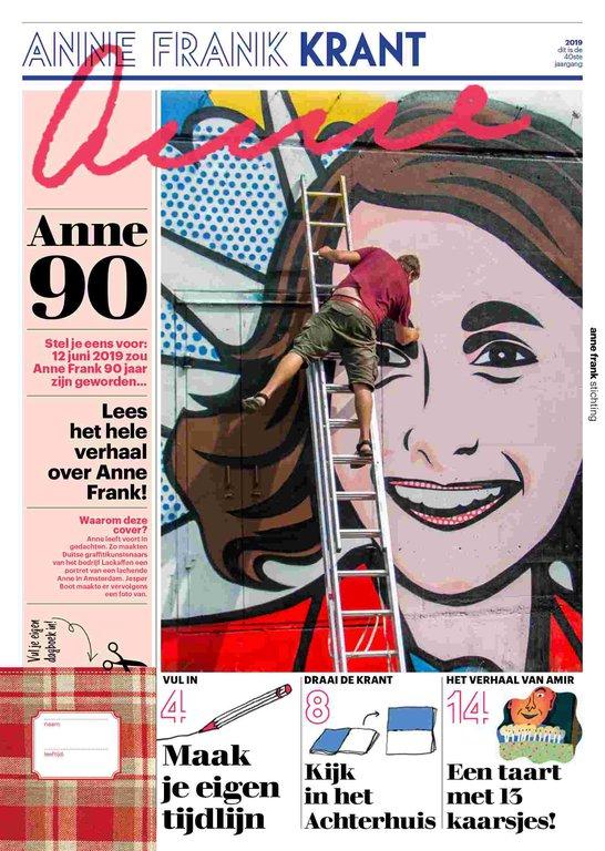 Nieuwe Anne Frank Krant is uit