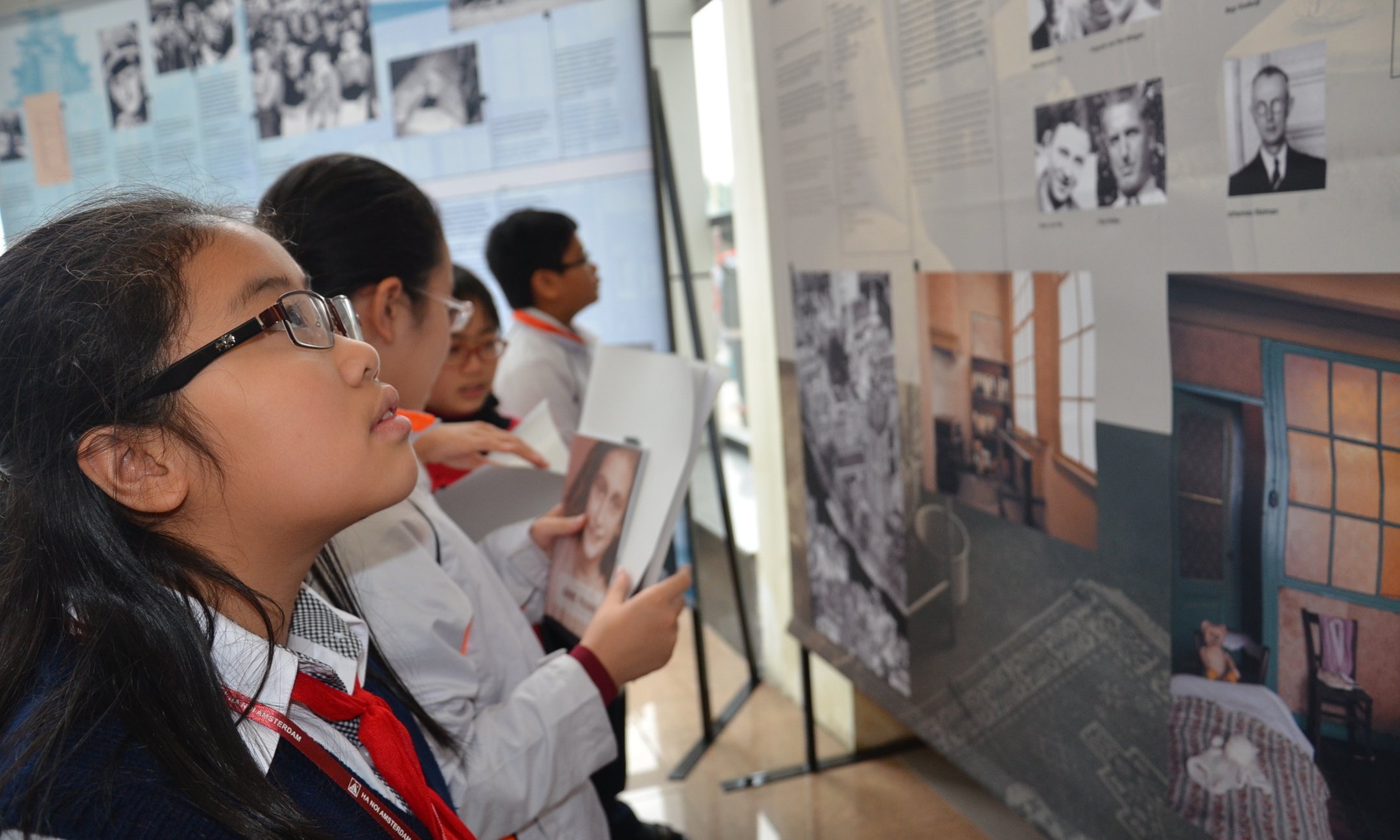 Exhibition 'Anne Frank a History for today' in Hanoi, Vietnam
