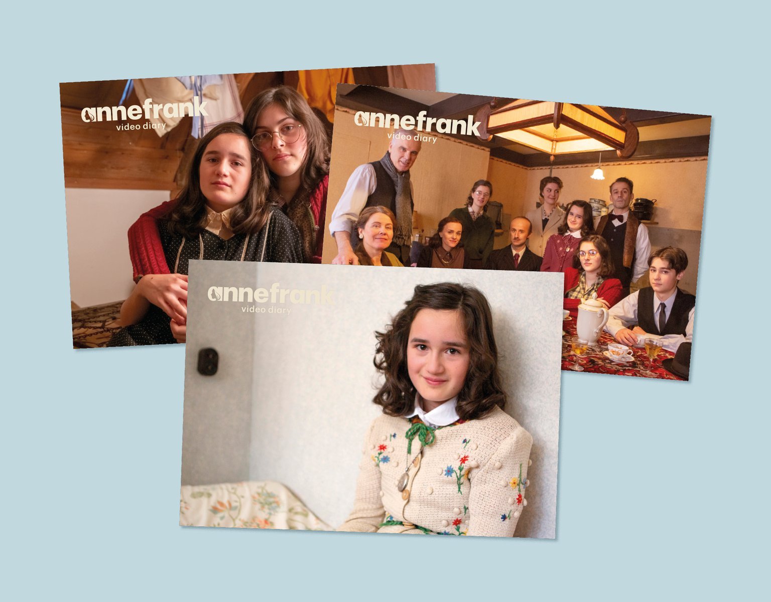 Were you impressed by our video series? You may want to read The Diary of a Young Girl. Order the diary in our online shop and receive a free set of postcards with your purchase. Any purchase supports the Anne Frank House.
