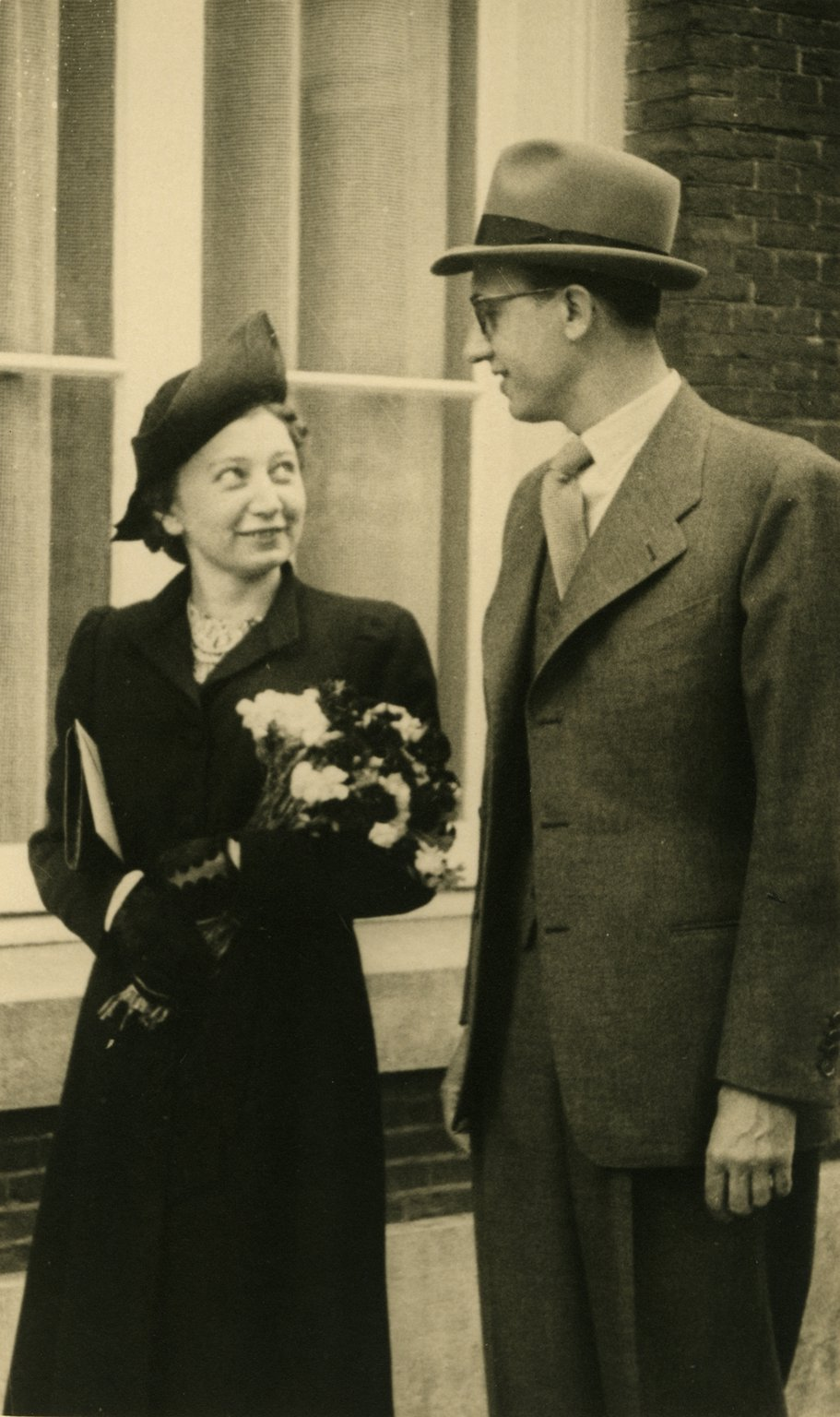 The wedding of Miep and Jan Gies, 16 July 1941.