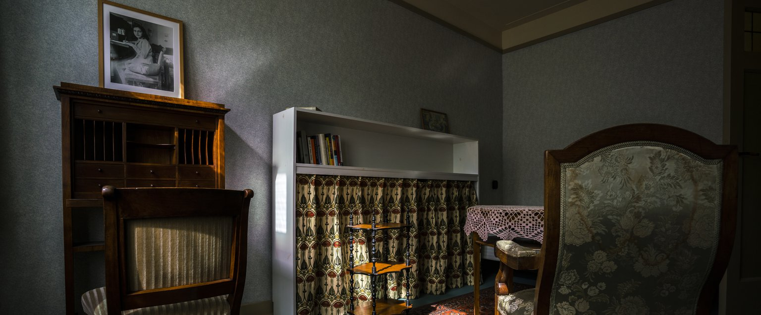 Looking around inside Anne Frank's former home on Google ...