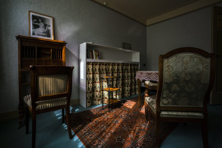 Looking around inside Anne Frank's former home on Google Arts & Culture