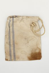 The cotton bag carried home by Otto Frank