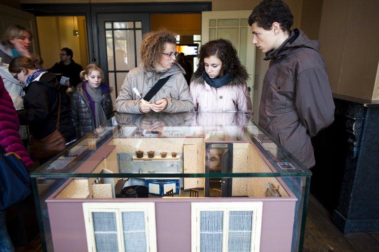 Anne Frank Haus empfängt 1.266.966 Besucher
