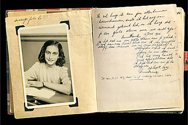 Image of: Pack Anne Receives Diary Anne Frank Stichting Timeline Anne Frank Anne Frank House